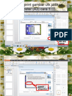 cara nak print gambar utk jadikan poster (.pptx