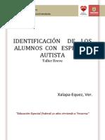 Identicacion Alum Espectro Autista