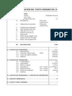 Cálculo de Costos de Maquinaria Pesada