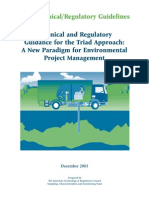 Technical and Regulatory Guidance for the Triad Approach