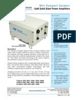 Paradise Datacom Outdoor GaN Mini-Compact SSPA 208838 RevK