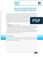 PDF Sabes Cuales Son Las Diferencias Entre Personas Fisicas y Morales