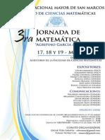 Tercera Jornada Matematica 2015(2)