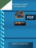 Material Curso Balanced Scorecard