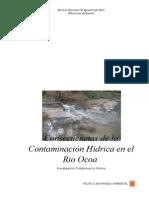 Consecuencias de La Contaminación Hídrica en El Rio Ocoa