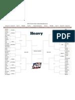 Updated NCAA tournament bracket