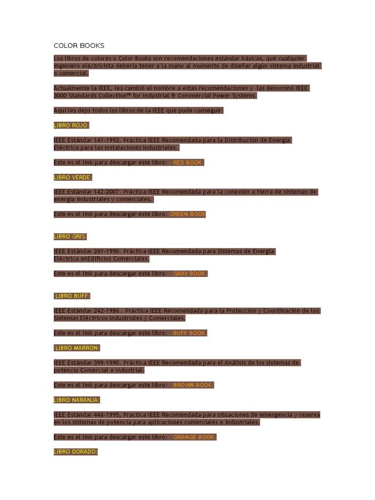 Atractivo Libro De Colores Ieee Componente - Dibujos Para Colorear ...