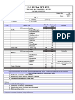 Daily Report Format
