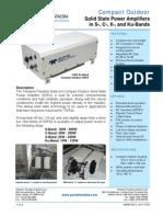 Paradise Datacom Compact-Outdoor SSPA 205485 RevU