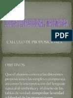 Calculo Proposicional. (1)