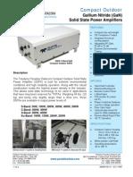 Paradise Datacom GaN Compact-Outdoor SSPA 209555 RevN