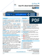 Paradise Datacom Q-Flex Dual Band Satellite Modem 210058 20150305