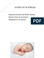 Malnutricion Infantil en Aps - Ernesto Nuñez