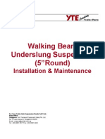 Walking Beam Under Slung Suspension
