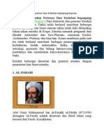 Ilmuwan Muslim Terbesar dan Terhebat Sepanjang Sejarah