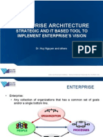 EA - Strategic and IT Based Tool to Implement Enterprise's Vision