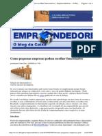 2009-09-04 - Como Pequenas Empresas Podem Escolher Funcionários