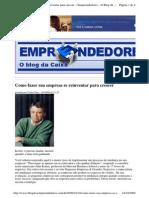 2009-10-10 - Como Fazer Sua Empresa Se Reinventar Para Crescer