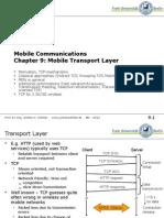 Transport Protocols2