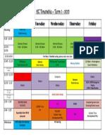 kc 2014 timetable