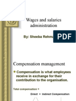 PPT of Wages and Salaries Adm