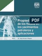 Propiedades de los Fluidos en los Yacimientos Petroleros y aplicaciones