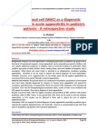 White blood cell (WBC) as a diagnostic parameter in acute appendicitis in pediatric patients - A retrospective study
