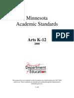 minnesota academic standards in the arts 2008 narrative (1)