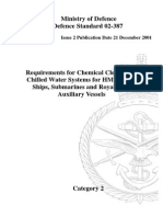 NES 387 Chemical Cleaning of Chilled Water System Category 2