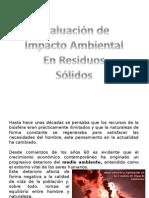 Evaluación de Impacto Ambiental Trabajo