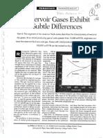 Reservoir Gases Exhibit(Gases de Yacimientos Presentan Sutiles Diferencias)