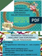 PENGARUH TMK DALAM PENDIDIKAN KUMP 1.pptx