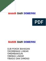 Mat II 09 Basis Dan Dimensi