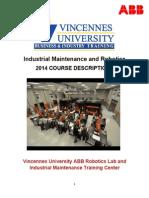 2014 Course Descriptions