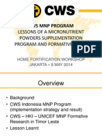Cws Mnp Program