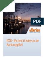 ECIDIS-Training - Wie Ziehe Ich Nutzen Aus Der Ausruestungspflicht CharWorld GmbH