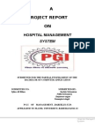 Hospital Management Report