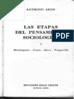 Las Etapas Del Pensamiento Sociológico 1.