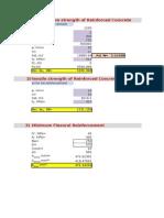 Rc Design Formula