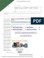 MGT 502 Organizational Behaviour 100 Solved MCQs.pdf