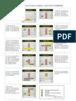 2014-15 school calendar 1