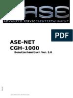 ASE-NET - Handbuch 2013 de Kraftcom