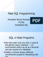 SQL Optimization and Tuning