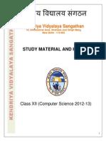 Study Meter i Al Class Xii Comp Science