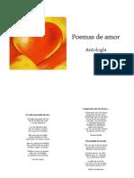 Antología de poemas de amor