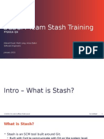 Stash Training