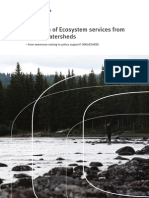 Valuation of Ecosystem Services From Nordic Watersheds Full Book