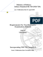 NES 729 Part 5 Requirements for Non-Destructive Examination Methods