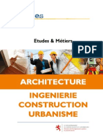 Métiers Architecte Ingénieur BTP Urbaniste