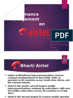 Performance Management in Airtel